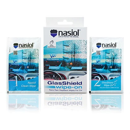 glasshield wipe on